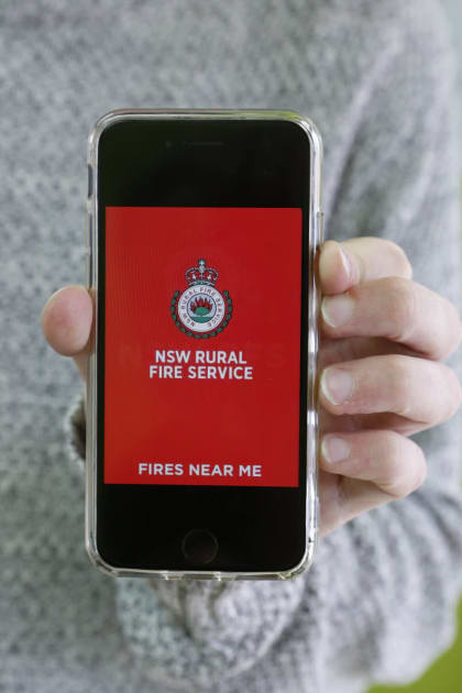 NSW real estate owners recommend downloading the Fires Near Me app