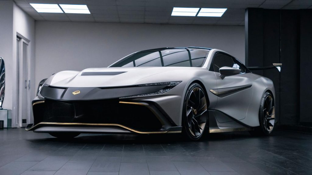 Naran is a 1,048bhp, 4-seater, GT3 inspired hyper coupe