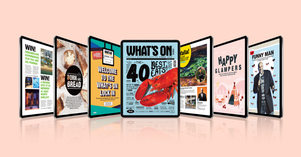 Download the November issue of What's On for free now
