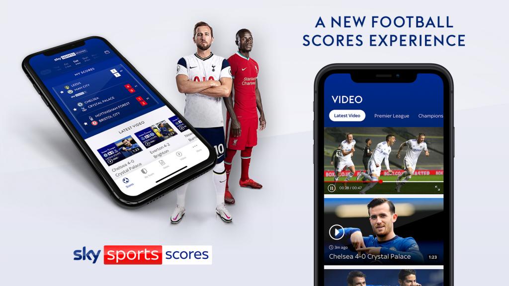 Sky Sports Scores app