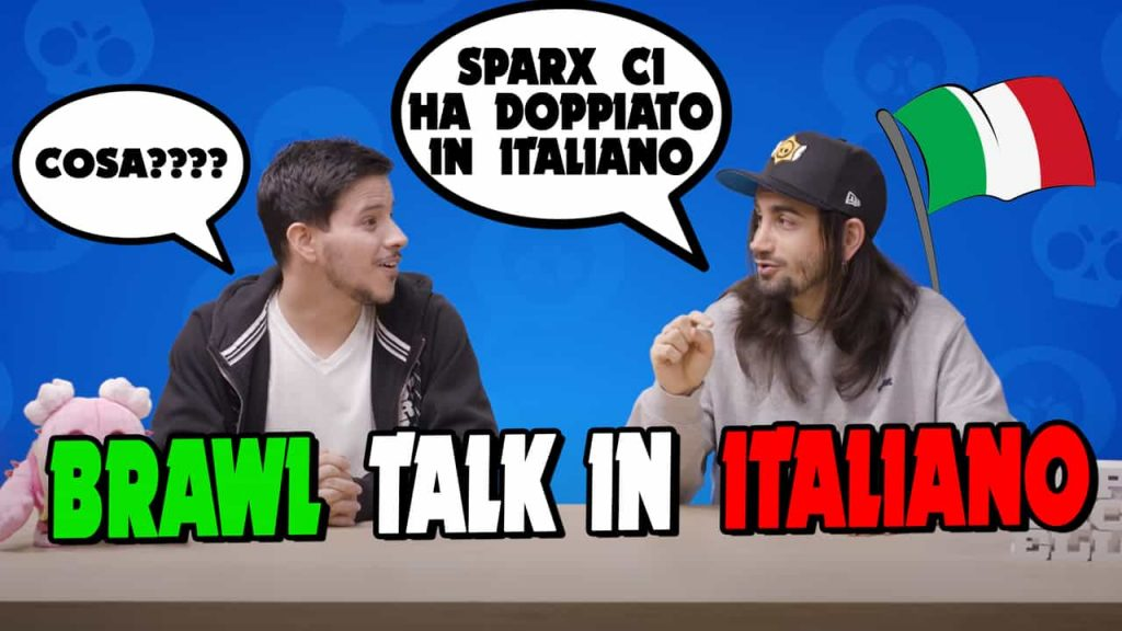 The November BRAWL TALK dubbed in Italian is CRAZY!