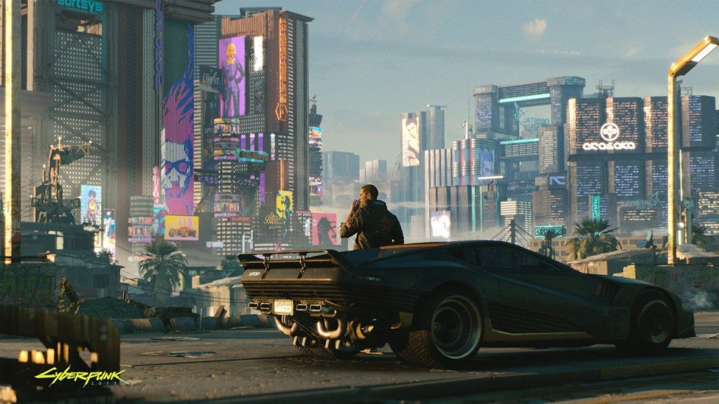 This is basically what Cyberpunk 2077 looks like on PS5 and PS4