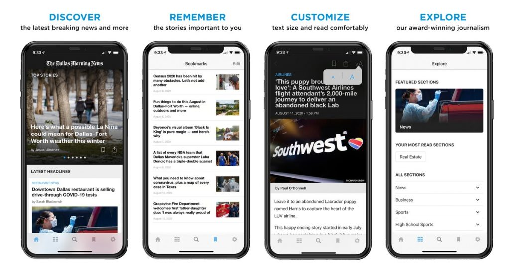 Welcome to the Dallas Morning News.Here's how to download the app