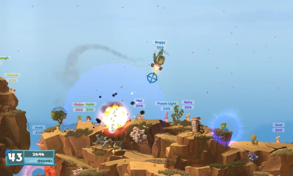 Worms WMD Download Free Computer Games Latest Version