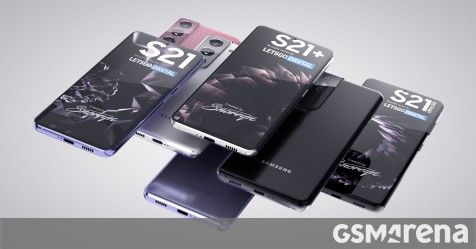 Samsung Galaxy S21, S21 + and S21 Ultra will be displayed with nice high quality rendering