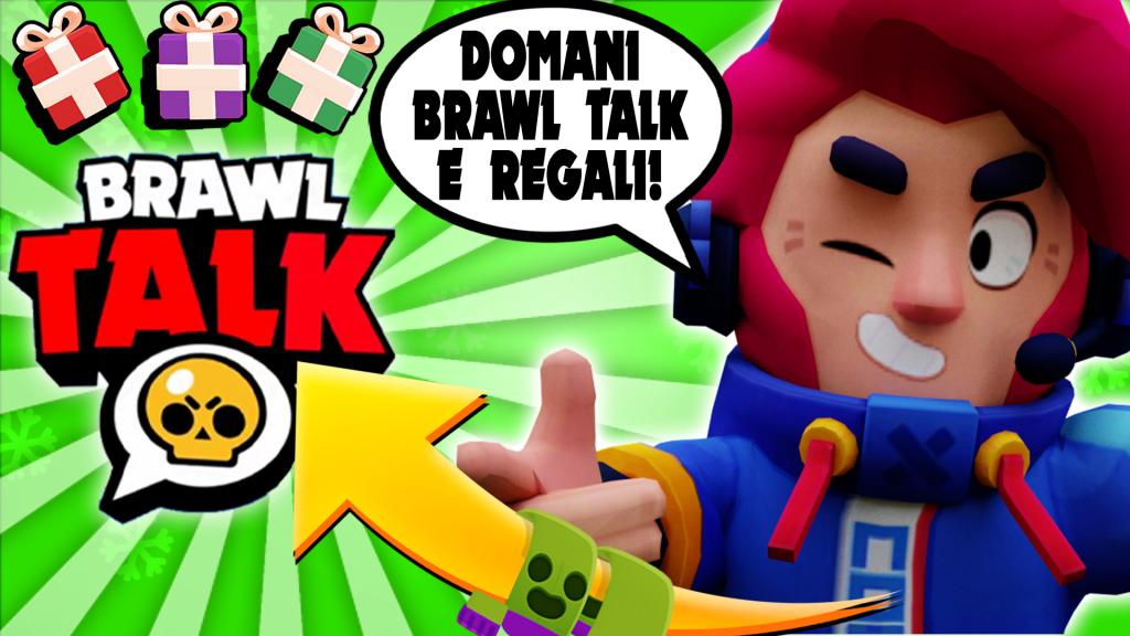 BRAWL TALK CONFERMATO!! 2 NUOVI BRAWLER e tanti REGALI per il Brawlidays!