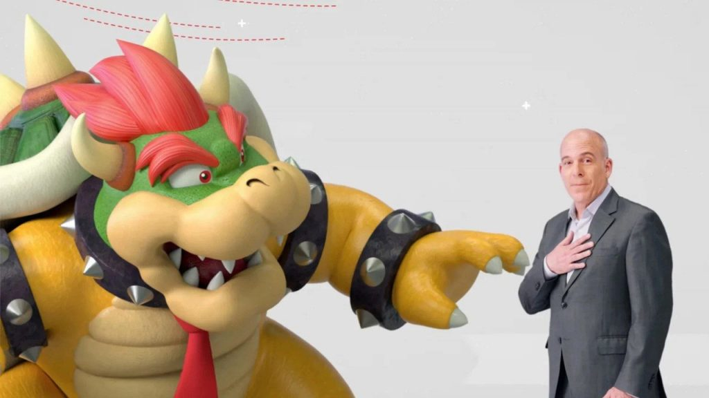 Bowser tries to explain why Mario's game will be removed on March 31, 2021