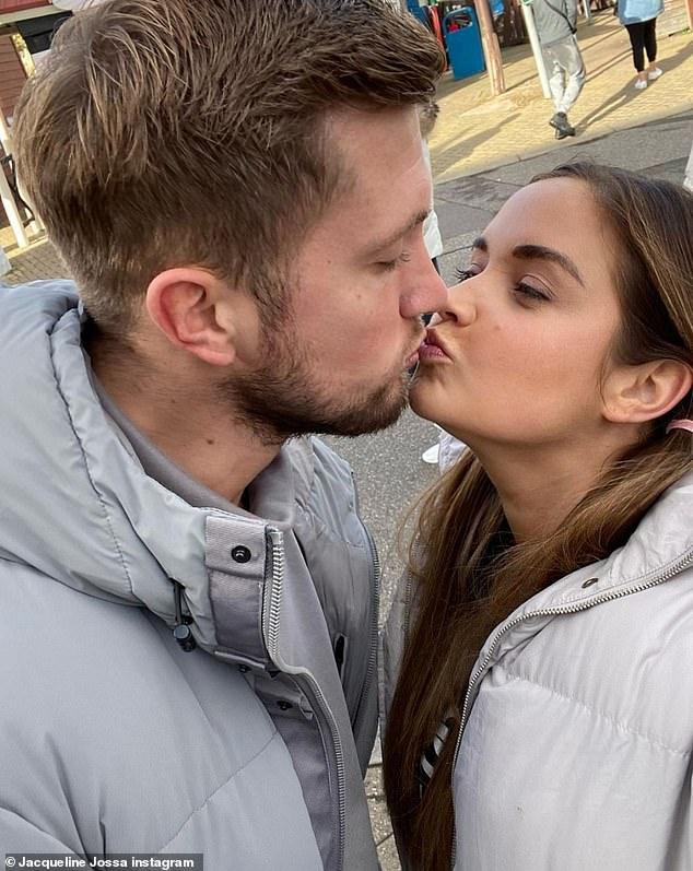 couple! Jacqueline Josa smiled again soon after spending a day with her husband Dan Osborne on Thursday. She shared a beloved snap of a family day.