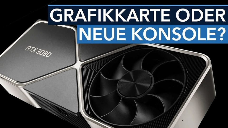 Nvidia RTX 3000 - PS5 and Xbox have no chance against these cards