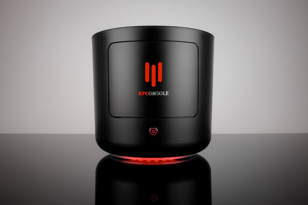 KFConsole officially launched!  High-end gaming PC with chicken warmer