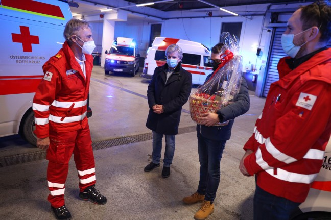 57 years active in the salvage service: A lot of applause and thanks to Franz Weingartner