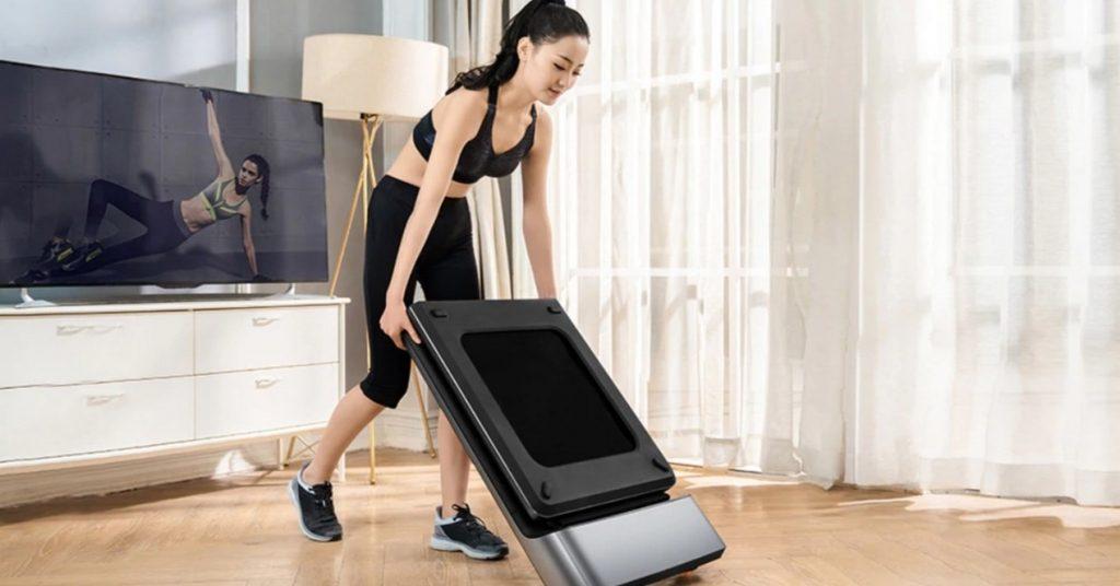 The Xiaomi WalkingPad A1 Pro folding treadmill with discount