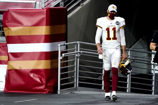 Alex Smith leaves Washington match due to right foot problem