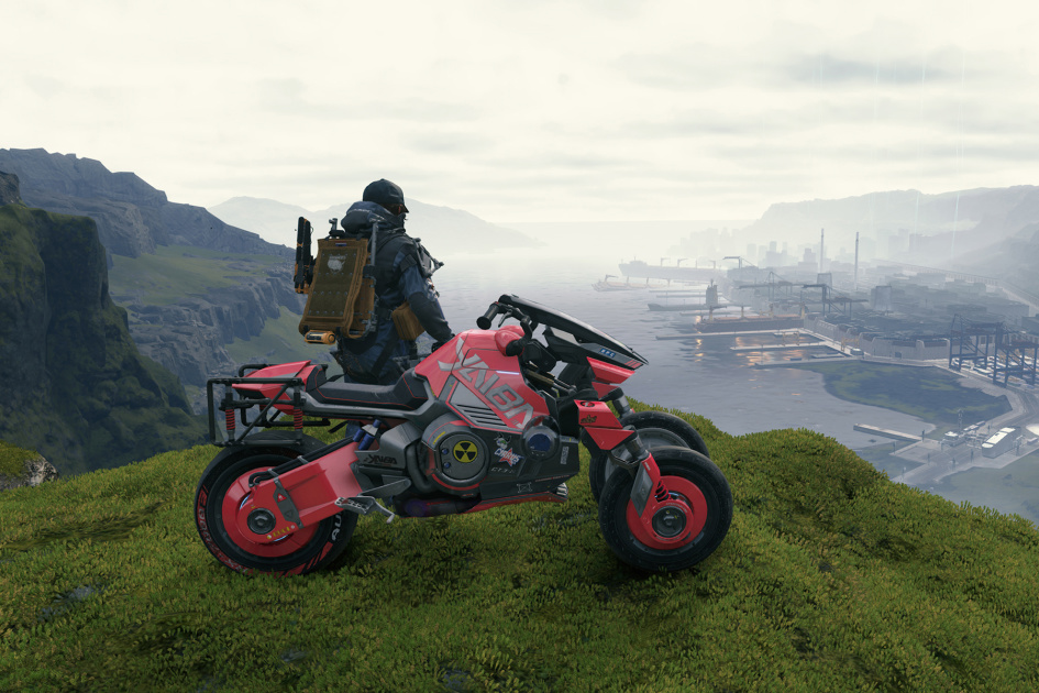 """""""Cyberpunk 2077"""" missions and equipment added to the """"Death Stranding"""" PC update"""