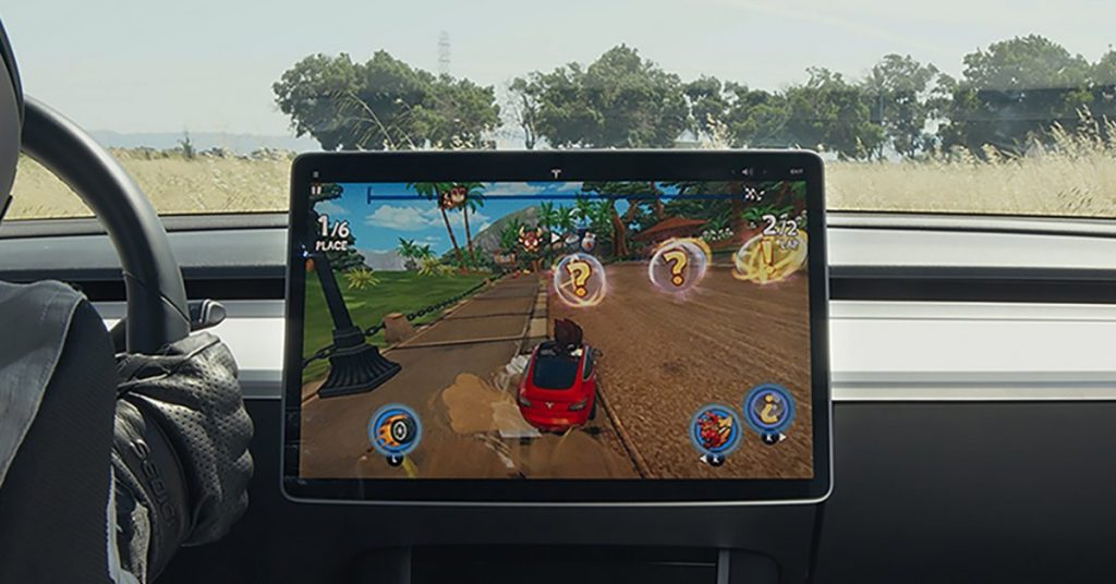 Elon Musk is urging Tesla to increase in-car games in preparation for the future of autonomous driving