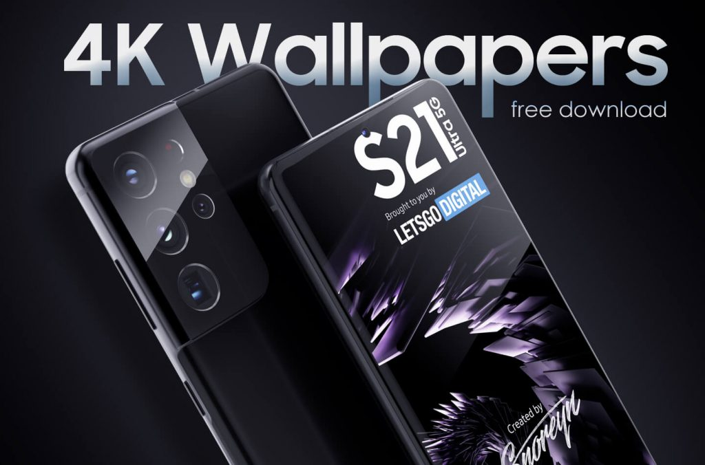 Galaxy S21 wallpapers to download in full HD and 4K