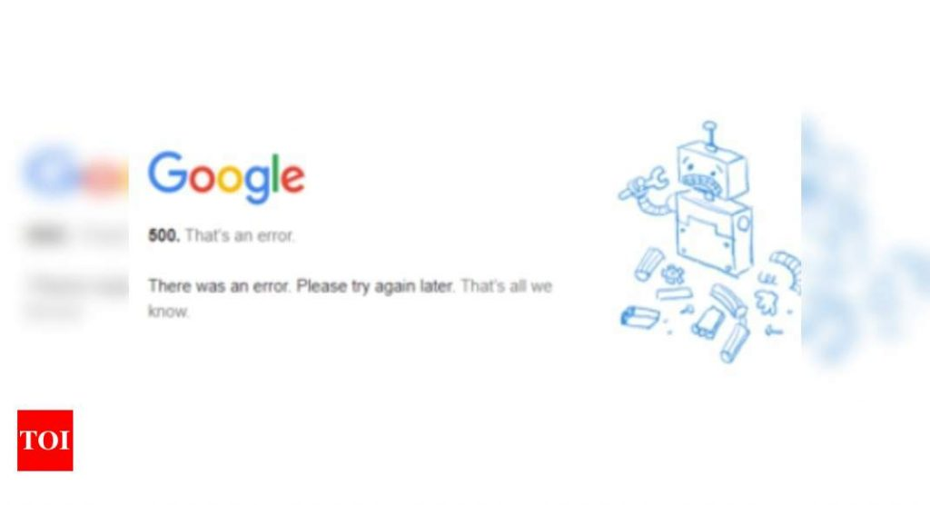 Gmail, Drive and YouTube are suffering from a global outage