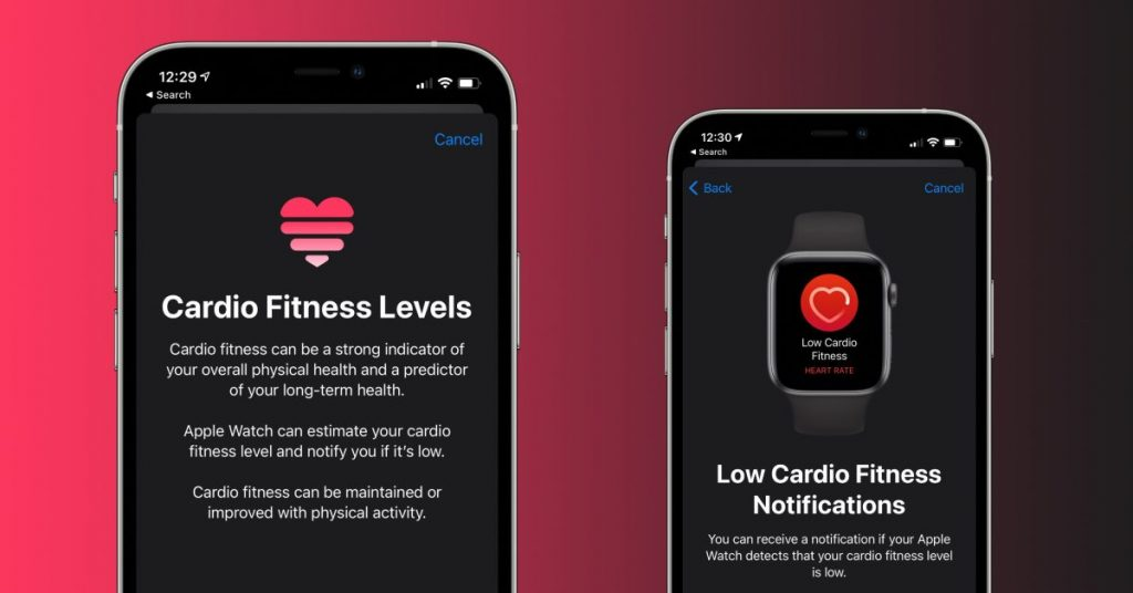 How to use Cardio Fitness on iPhone and Apple Watch