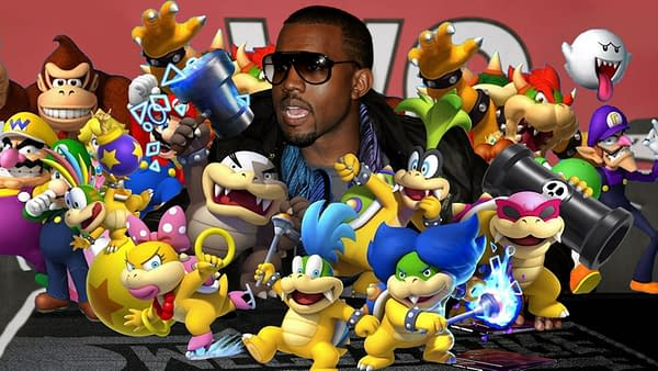 Kanye West seems to have pitched a video game to Nintendo