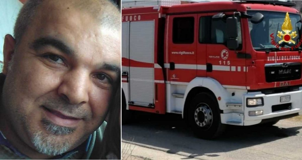 Bad weather in Sardinia, firefighter hit by electric shock: dies while working