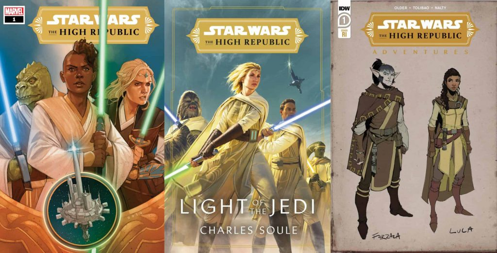 News Watch: Star Wars High Republic Digital Sampler Downloadable on 12/12