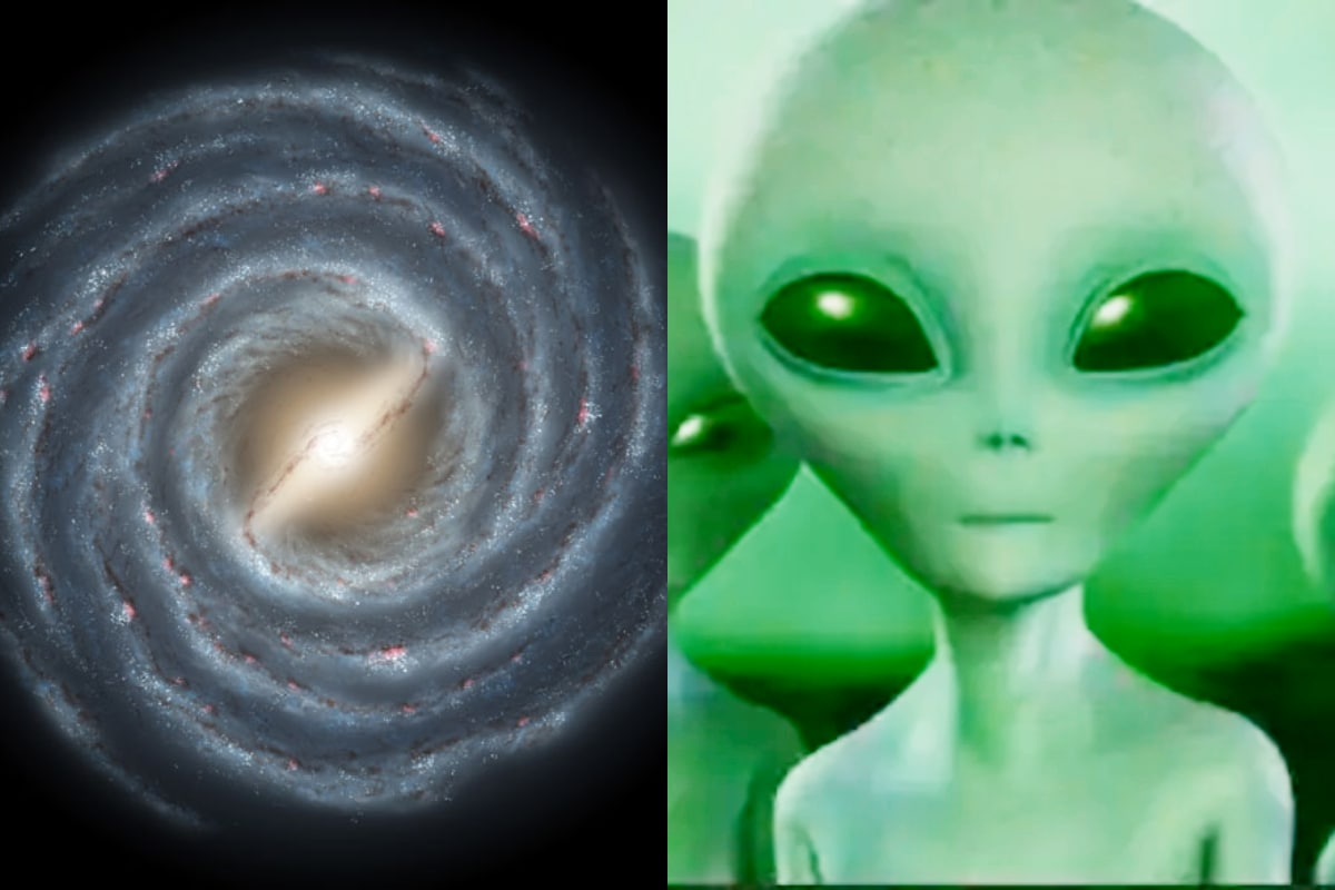Aliens of the Milky Way: Let me tell you the story of the moon.  So ... this is not a story.  Scientists predict the latter.  Literally our Milky Way.  Mine of millions of stars.  Astronomers believe that there are aliens in it.  So ... so far no one has been able to submit the perfect solution, which is not strange.  We who have a bit of technology ... are trying to go to other planets.  Aliens who think there will be much more technology ... why not try to communicate with us?  Scientists have given a terrible answer to this question.  Because ... most of the aliens are estimated to be dead.  Why ... is their extreme science and technology expected to kill them?  Let's find out.  (image credit - NASA)