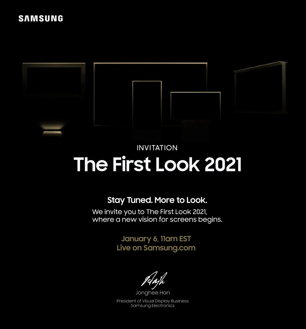 Samsung First Look 2021 Event