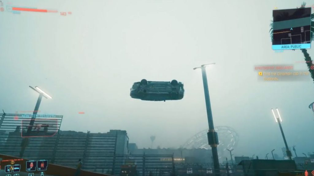 The Cyberpunk 2077 glitch trailer has hordes of flying cars, entropy trees, and doppelgangers.
