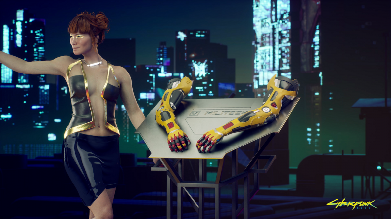 Cyberpunk 2077 Release Time Arm
