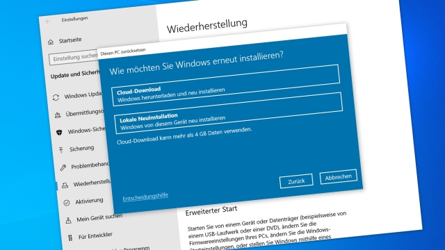 Windows 10: fresh install with free ISO