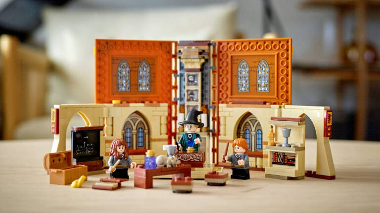 The new (and beautiful) Lego sets dedicated to Harry Potter are available!