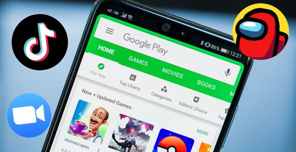 app giochi più scaricati 2020 dispositivi mobili