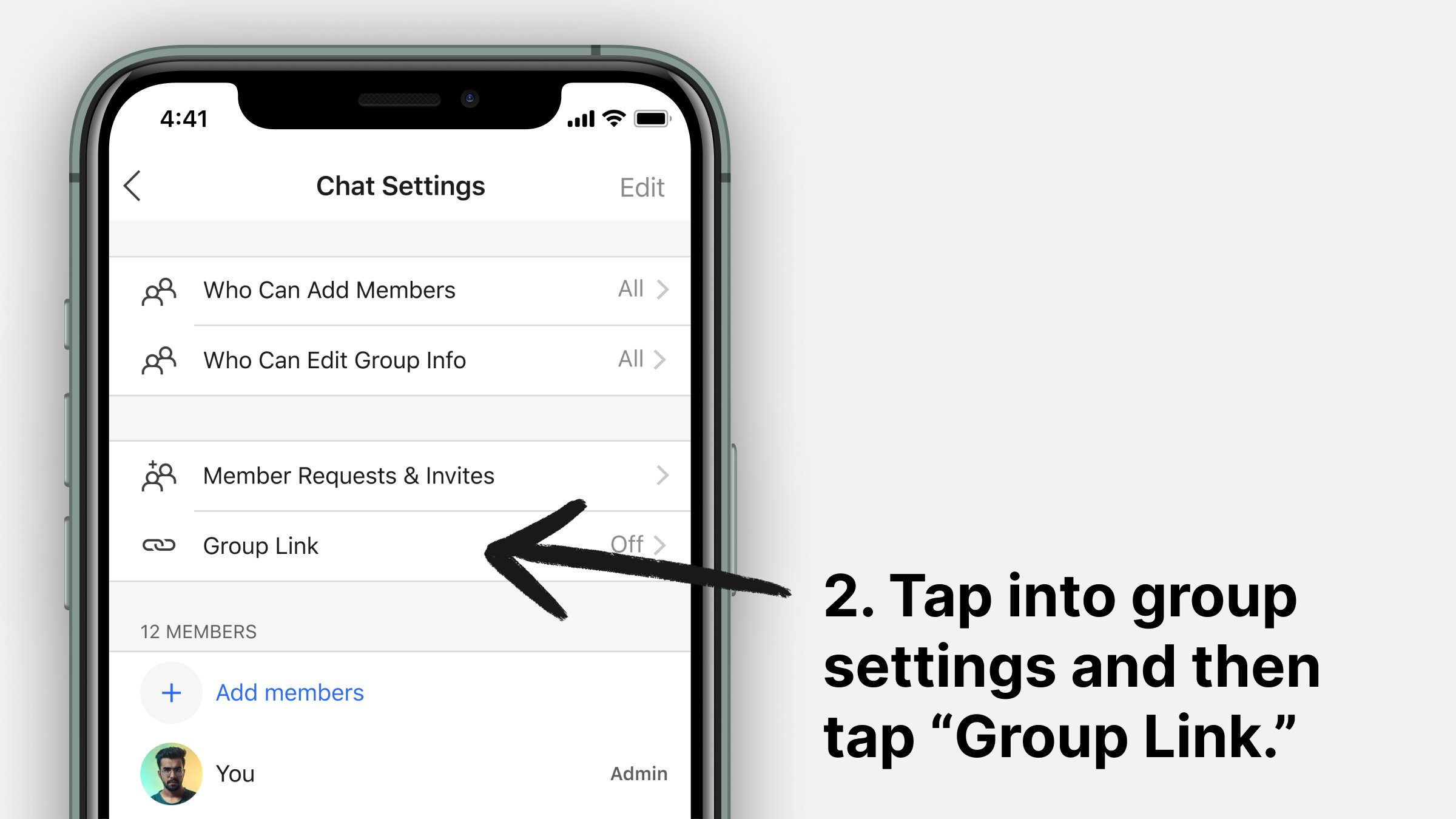 Simple steps to create and transfer groups to Singal