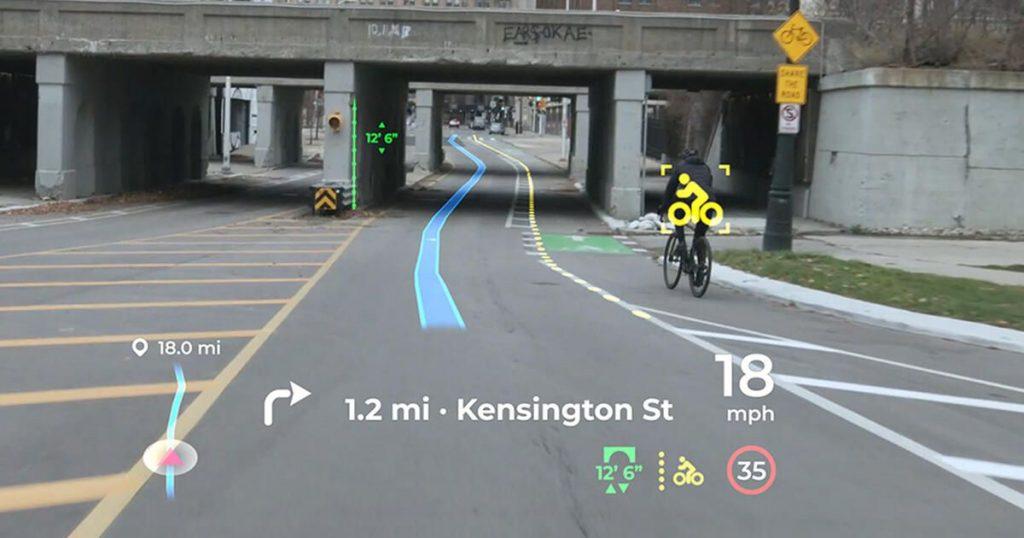 Panasonic's new HUD technology turns windshields into video games