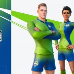 """Seattle Sounders of 23 teams from around the world participating in the special """"Fortnite"""" celebration of football"""