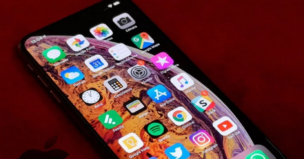 How to have an app menu on iPhone