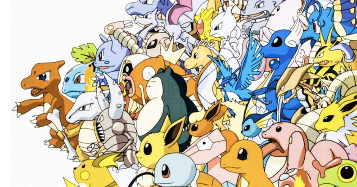 Original Kanto Pokémon