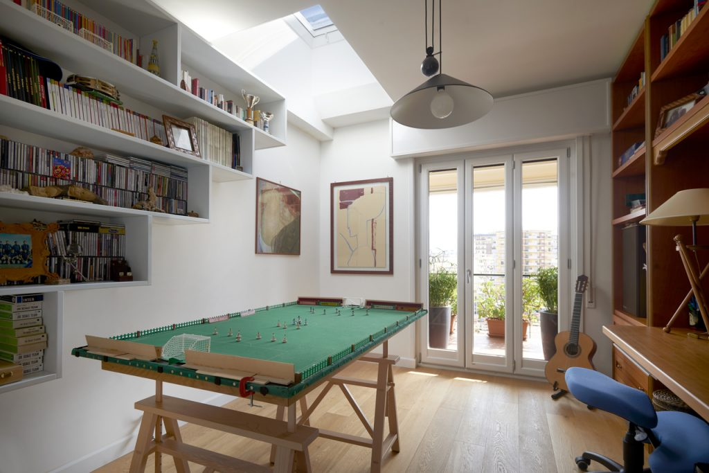 Turn your attic into a family room