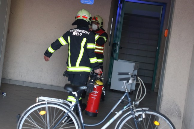 Arson: the fire in the basement of a company kindergarten in Wels-Neustadt was quickly extinguished