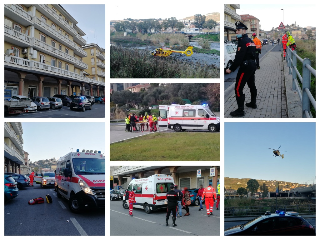 2-year-old boy falls from a balcony in via Argine Destro, it is serious.  By helicopter to Gaslini / Photos and videos