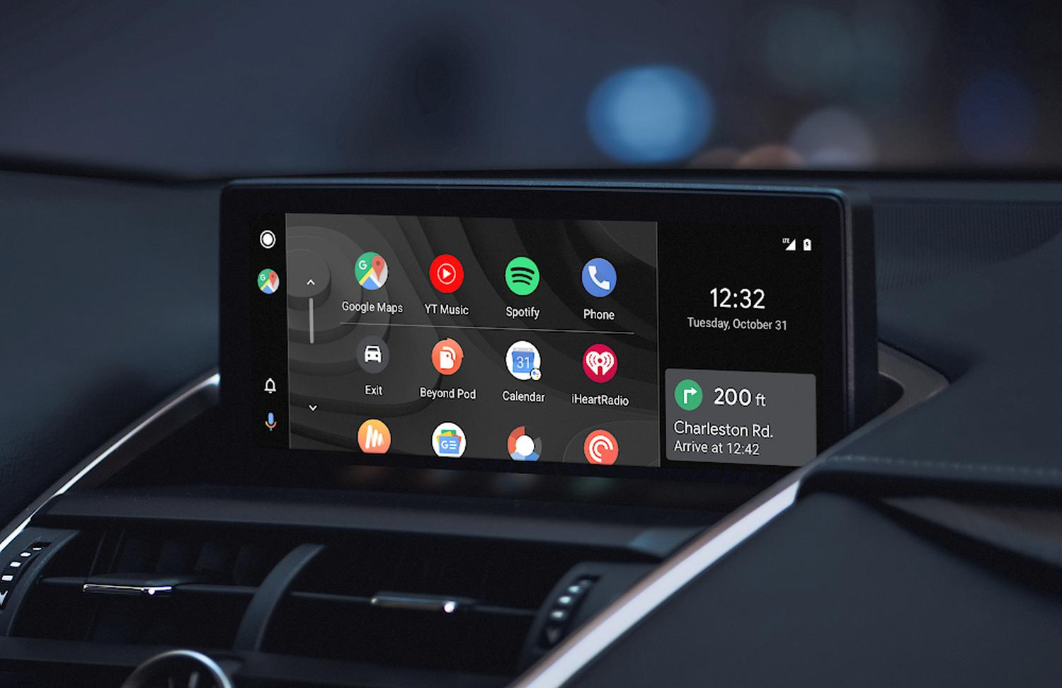 Android Car: Finally wallpapers!  All wallpapers of the infotainment platform can be downloaded right here