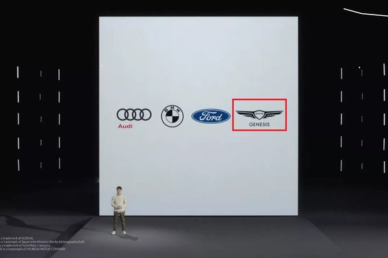 Apple is behind and Samsung too … Hyundai puts a smartphone 'digital key'