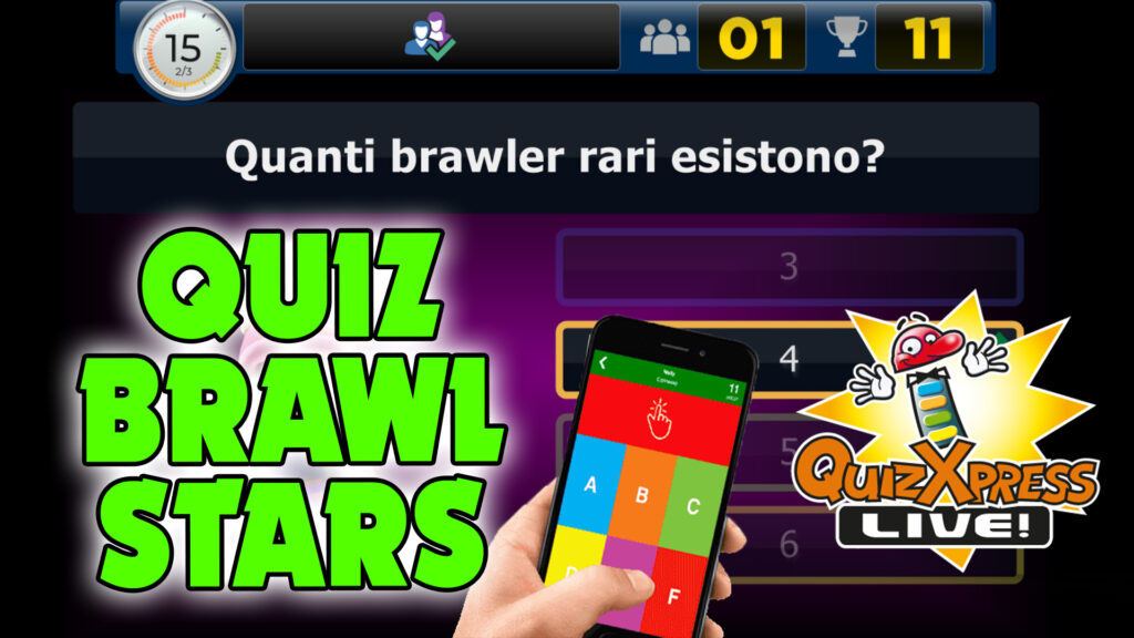 BRAWL QUIZ CHALLENGE - The biggest QUIZ in ITALY on BRAWL STARS in LIVE!