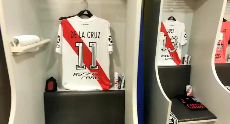 Boca Juniors v.  River Plate: music invades the Millionaire's dressing room before the Argentine Superclásico of the Diego Maradona Cup |  VIDEO |  FOOTBALL-INTERNATIONAL