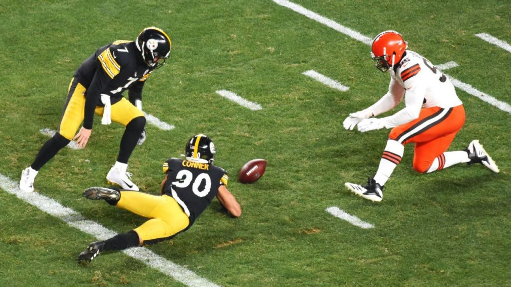 Cleveland Browns attack Pittsburgh Steelers from a jump at 28 Q1 points