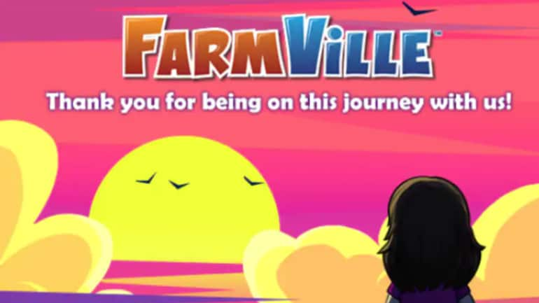 FarmVille is not available on Facebook 11 years after Adobe Flash Player was closed