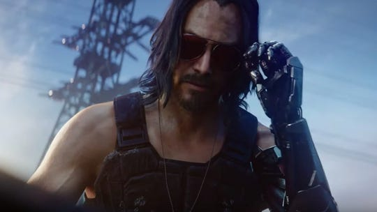 Cyberpunk 2077: One of E3's most hyped games, CD PROJEKT RED's first-person cyberpunk role-playing game plays Keanu Reeves in one of its roles.