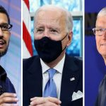 Google and Apple CEOs praise Biden's immigration policy