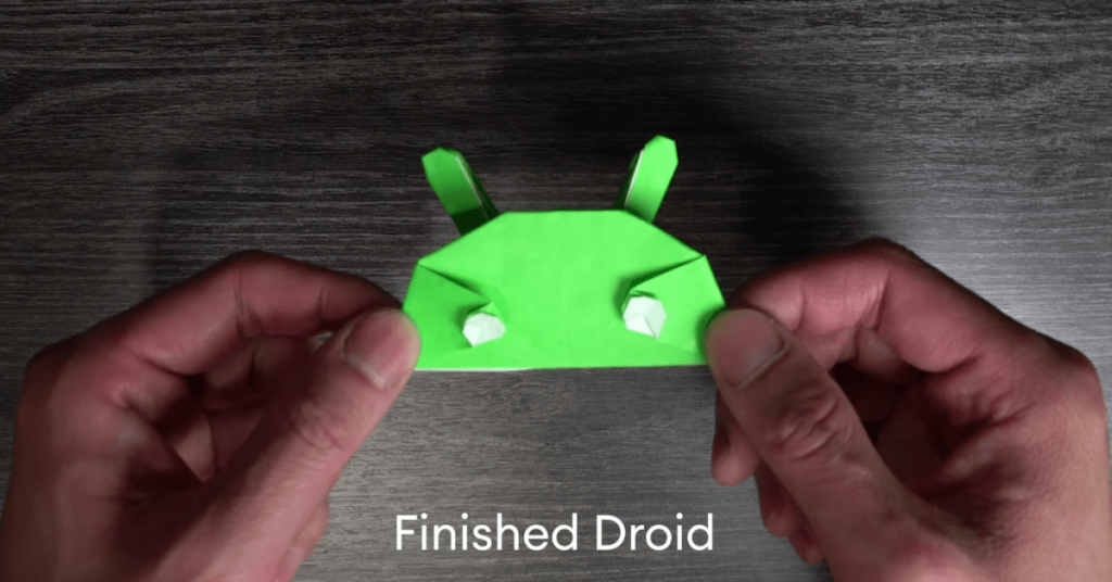 Google shares a video about creating an Android origami mascot