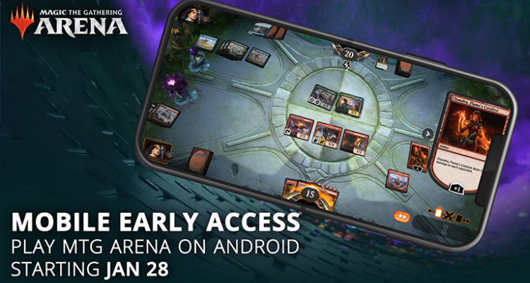 The Gathering Arena, Android release date, soon on new iPhones - nerd4.life